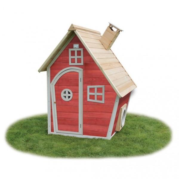 f9cad5e0351ac detský drevený domček EXIT Fantazia 100 cerveny. Detský drevený domček. detský  drevený domček-detske domceky-ihriska-pieskovisko-detsky dreveny domcek- ...